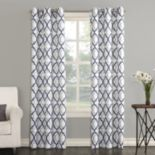 The Big One® 2-pack Leon Semi Sheer Trellis Scroll Window Curtains