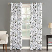 The Big One® 2-pack Isabel Floral Medallian Window Curtains