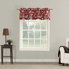 The Big One® Decorative Ani Floral Window Valance
