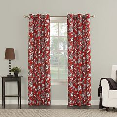 The Big One® Decorative 2-pack Ani Floral Window Curtains