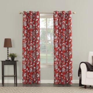The Big One® 2-pack Ani Floral Window Curtains