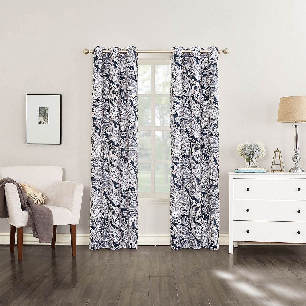 The Big OneR Decorative 2 Pack Gia Window Curtains