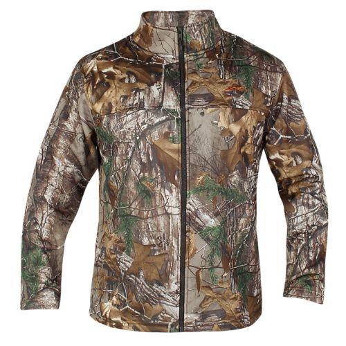 Men's Realtree Earthletics Modern-Fit Camo Microfleece Jacket