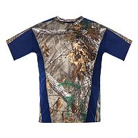 Big & Tall Realtree Earthletics Camo Colorblock Performance Tee
