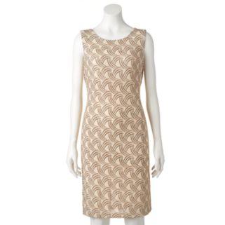 Women's Scarlett Glitter Shift Dress