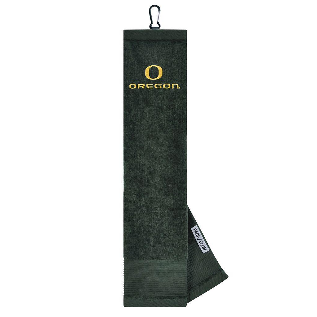 Team Effort Oregon Ducks Tri-Fold Golf Towel
