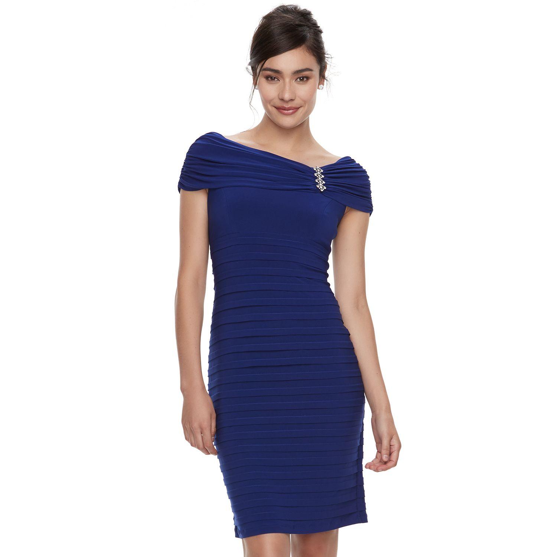 Womenu0027s Scarlett Shutter Stripe Sheath Dress