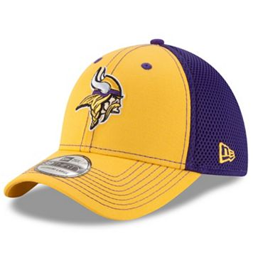 Adult New Era Minnesota Vikings 39THIRTY Team Front Neo Fitted Cap