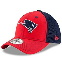 Adult New Era New England Patriots 39THIRTY Team Front Neo Fitted Cap