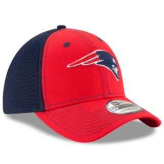 Adult New Era New EnglandPatriots 39THIRTY Team Front Neo Fitted Cap