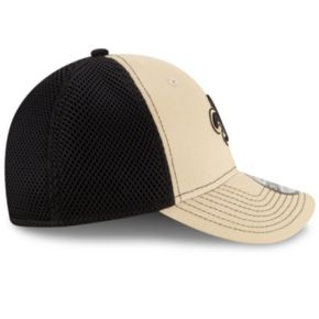 Adult New Era New Orleans Saints 39THIRTY Team Front Neo Fitted Cap