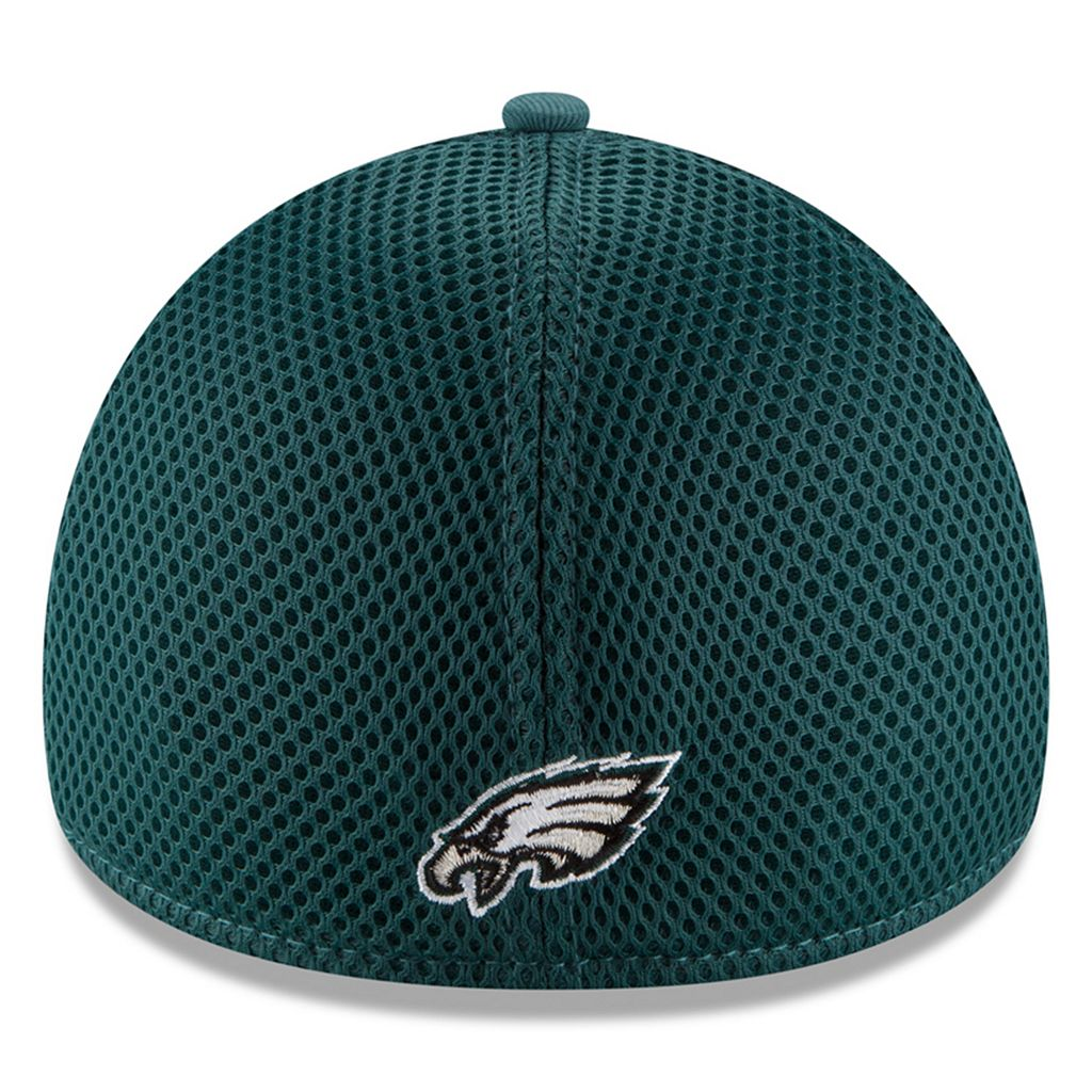 Adult New Era Philadelphia Eagles 39THIRTY Team Front Neo Fitted Cap