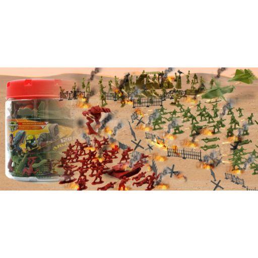 Lanard 120-pc. The Corps Elite Army Figure Playset