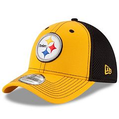 Adult New Era Pittsburgh Steelers 39THIRTY Team Front Neo Fitted Cap