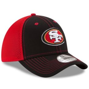 Adult New Era San Francisco 49ers 39THIRTY Team Front Neo Fitted Cap