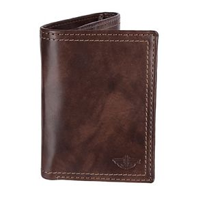 Men's Dockers® RFID-Blocking Trifold Wallet with Zipper Closure