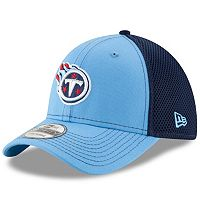 Adult New Era Tennessee Titans 39THIRTY Team Front Neo Fitted Cap