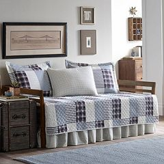 Eddie Bauer Camano Island Plaid 5 pc Daybed Set