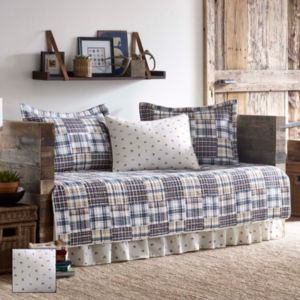 Eddie Bauer Sandpoint Plaid 5-piece Daybed Set