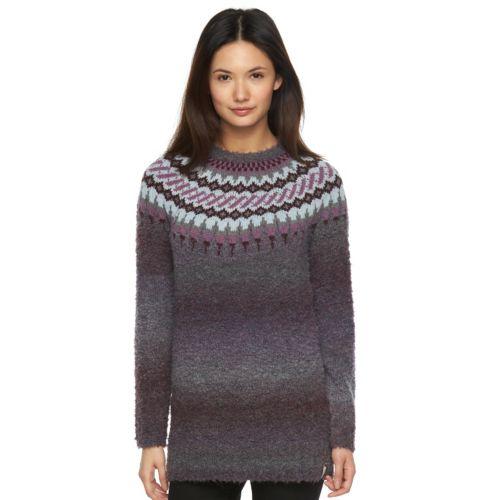 Women's Woolrich Roundtrip Fairisle Boucle Sweater