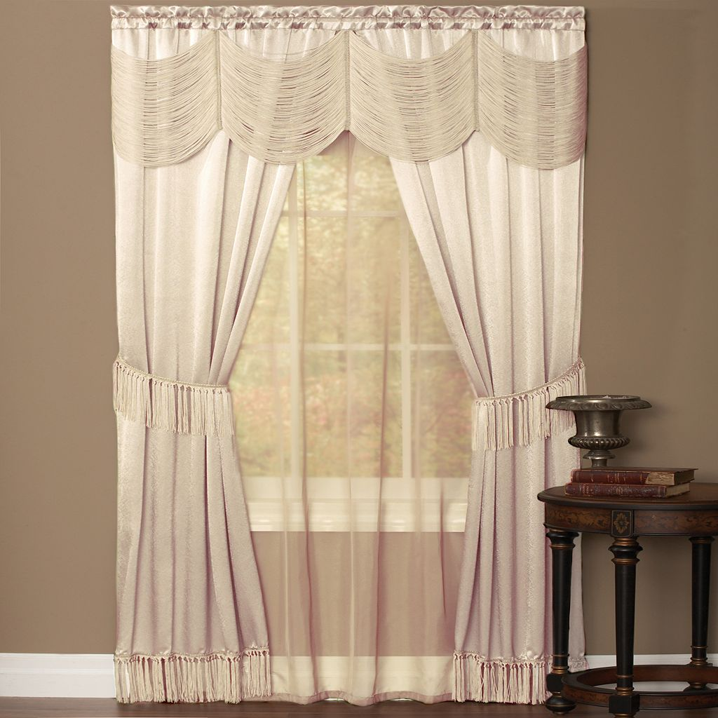 Halley 3-pc. Window Treatment Set