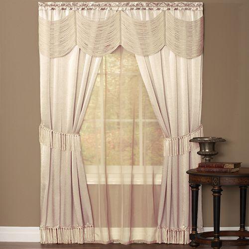 Halley 3-pc. Window Curtain Set
