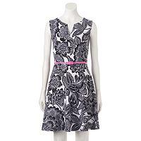 Women's Suite 7 Floral Fit & Flare Dress