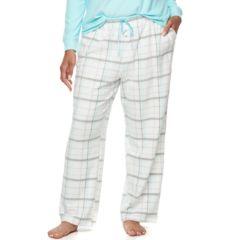 Plus Size Croft & Barrow® Pajamas: Microfleece Pajama Pants