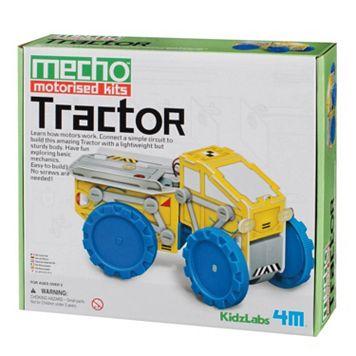 Toysmith 4M Kidz Labs Mecho Motorized Tractor Science Kit