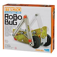 Toysmith 4M Kidz Labs Mecho Motorized Robo Bug Science Kit