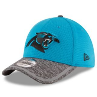 Adult New Era Carolina Panthers 39THIRTY Training Camp Fitted Cap