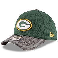 Adult New Era Green Bay Packers 39THIRTY Training Camp Fitted Cap