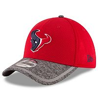 Adult New Era Houston Texans 39THIRTY Training Camp Fitted Cap