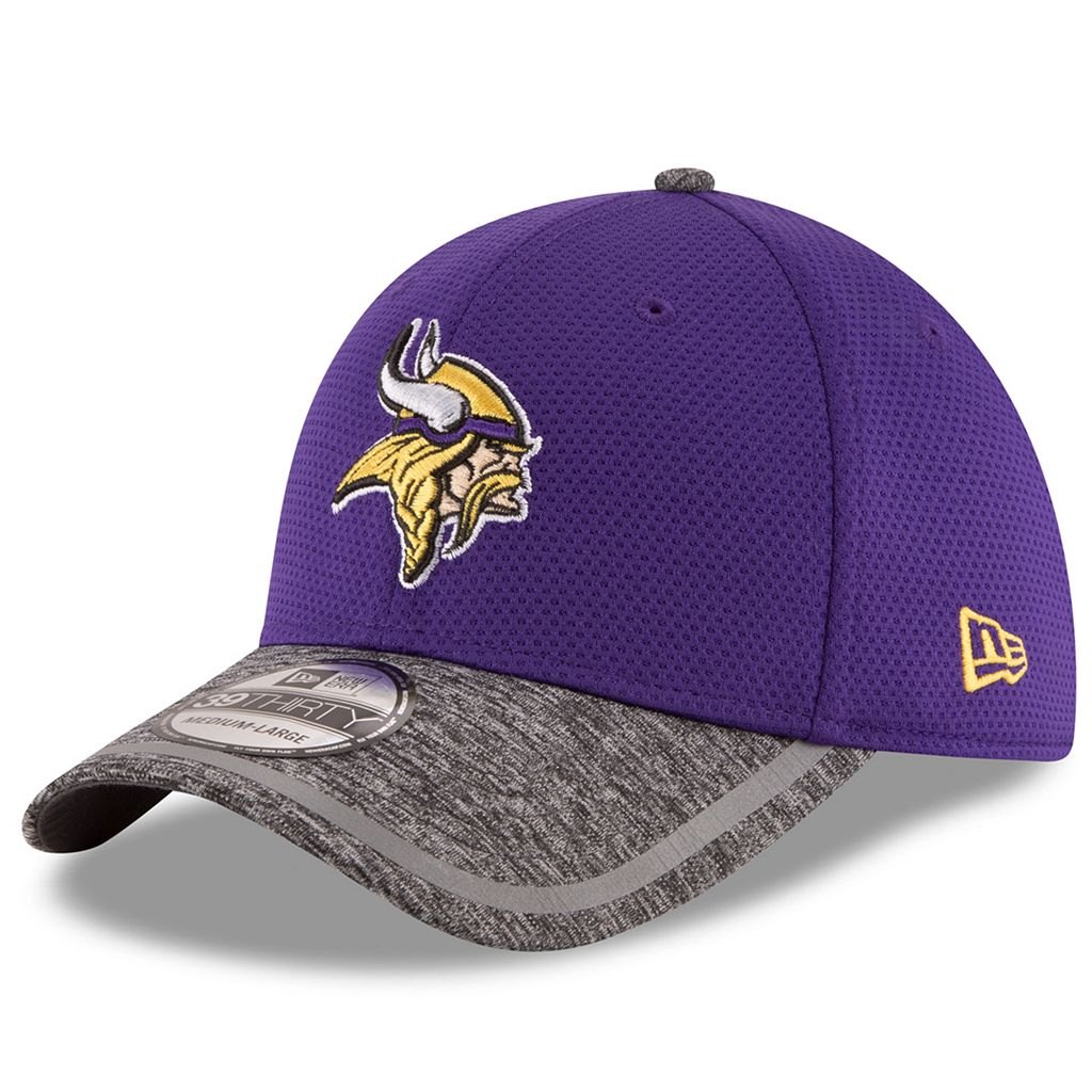 Adult New Era Minnesota Vikings 39THIRTY Training Camp Fitted Cap