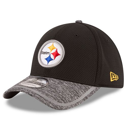 b4097283 Adult New Era Pittsburgh Steelers 39THIRTY Training Camp Fitted Cap