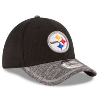 Adult New Era Pittsburgh Steelers 39THIRTY Training Camp Fitted Cap
