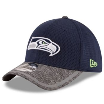 Adult New Era Seattle Seahawks 39THIRTY Training Camp Fitted Cap