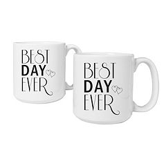 Cathy's Concepts 2-pc. 'Best Day Ever' Coffee Mug Set