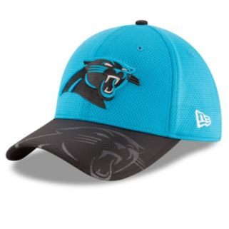Adult New Era Carolina Panthers 39THIRTY Sideline Flex-Fit Cap