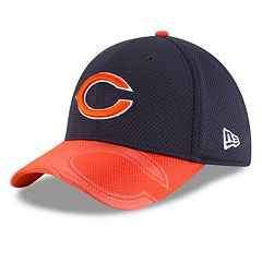 Adult New Era Chicago Bears 39THIRTY Sideline Flex-Fit Cap