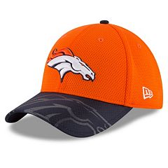 purchase cheap 2a664 4a224 Adult New Era Denver Broncos 39THIRTY Sideline Flex-Fit Cap