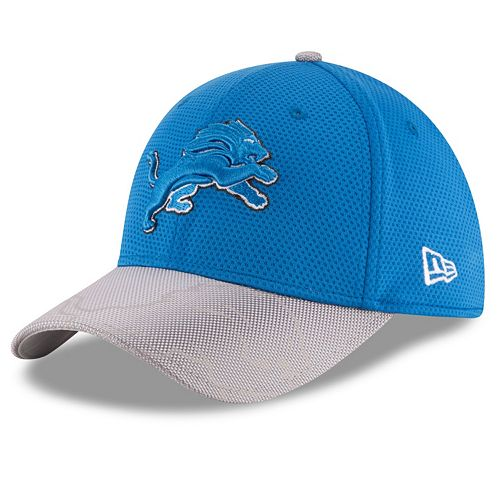 Adult New Era Detroit Lions 39THIRTY Sideline Flex-Fit Cap