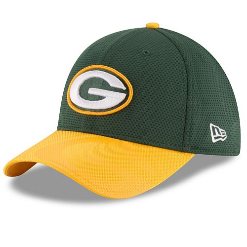 1a5712d7 Adult New Era Green Bay Packers 39THIRTY Sideline Flex-Fit Cap