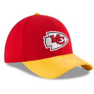 Adult New Era Kansas City Chiefs 39THIRTY Sideline Flex-Fit Cap