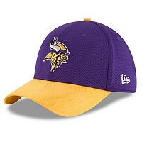 Adult New Era Minnesota Vikings 39THIRTY Sideline Flex-Fit Cap