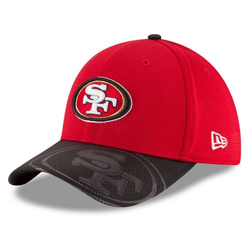 Adult New Era San Francisco 49ers 39THIRTY Sideline Flex-Fit Cap