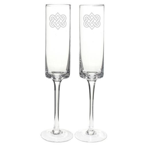 Cathy's Concepts 2-pc. Celtic Knot Champagne Flute Set