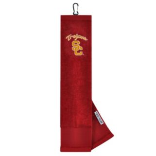 Team Effort USC Trojans Tri-Fold Golf Towel