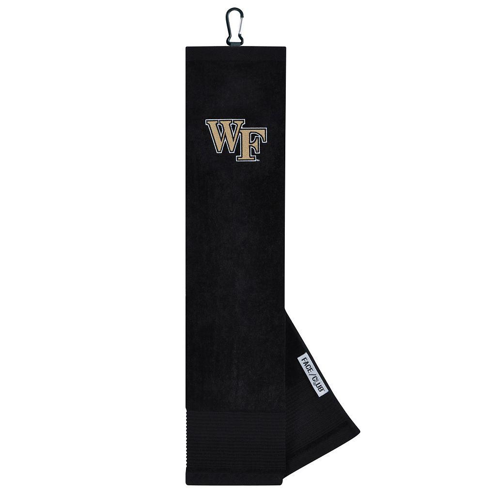 Team Effort Wake Forest Demon Deacons Tri-Fold Golf Towel