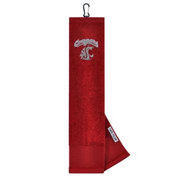 Team Effort Washington State Cougars Tri-Fold Golf Towel